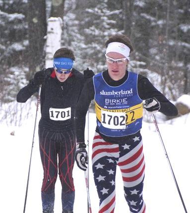 BWDalton and Gavin racing at Summit